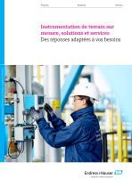 Instrumentation de terrain sur mesure, solutions et services