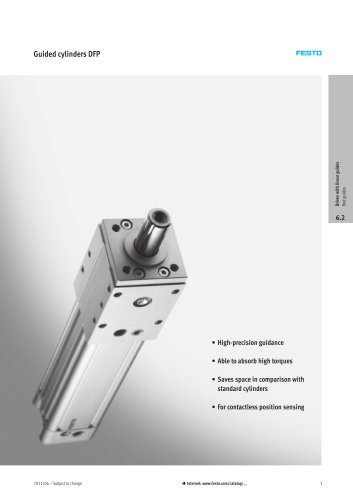 Guided cylinders DFP