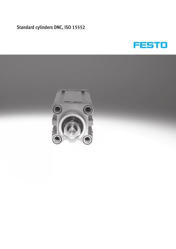 Standard cylinders DNC, ISO 15552