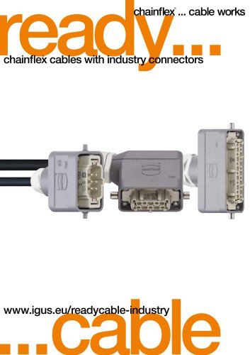 chainflex® cable with industrial connectors