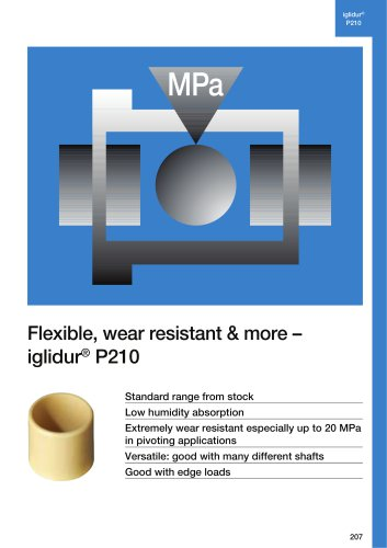 Flexible, wear resistant & more – iglidur® P210