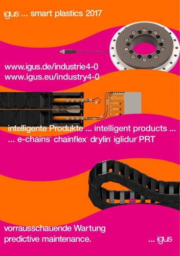 igus® smart plastics / Industrie 4.0