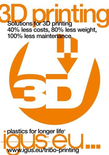 Industry brochure: 3D printing