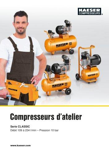 Compresseurs d'atelier Série CLASSIC