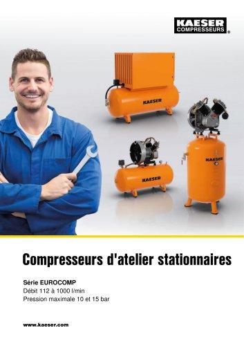 Compresseurs à pistons Série EUROCOMP