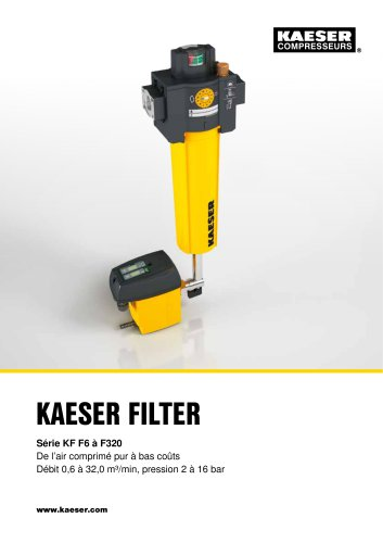 KAESER FILTER Série KF F6 à F320