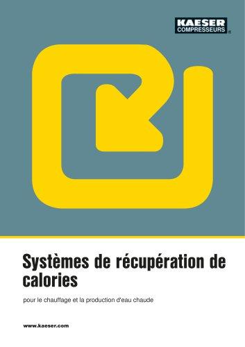 Récupération de calories