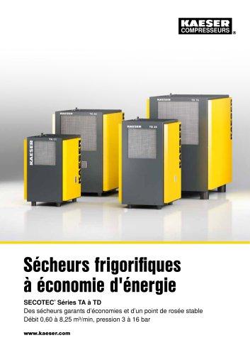 Sécheurs frigorifiques à économie d'énergie SECOTEC®  Séries TA à TD