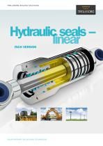 Hydraulic Seals - linear inch version (complete catalog)