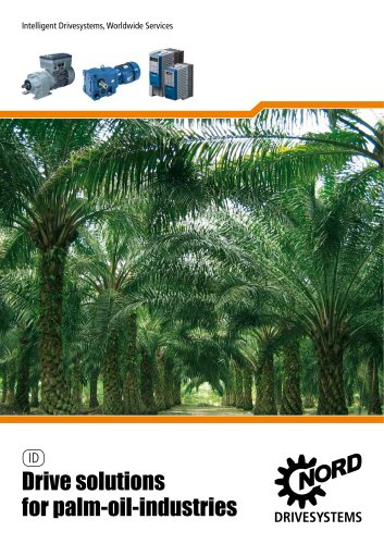 Drive solutions for palm-oil-industries - Unit 50