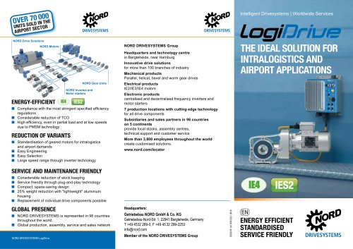 LOGIDRIVE - Ideal solution for intralogistics and airport applications (S5200)