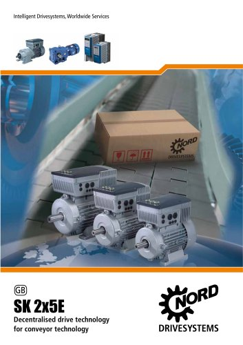 SK 2x5E Flyer for materials handling technology - Unit 25