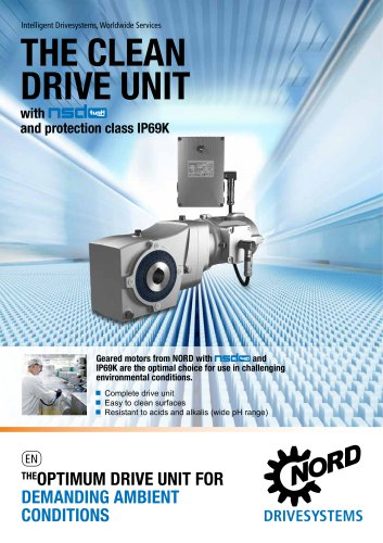The optimum drive unit for demanding ambient conditions - Unit 25 (S4400)