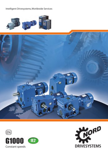 UNICASE Gear Units & Gear motors IE2 50Hz - metric - Unit 5