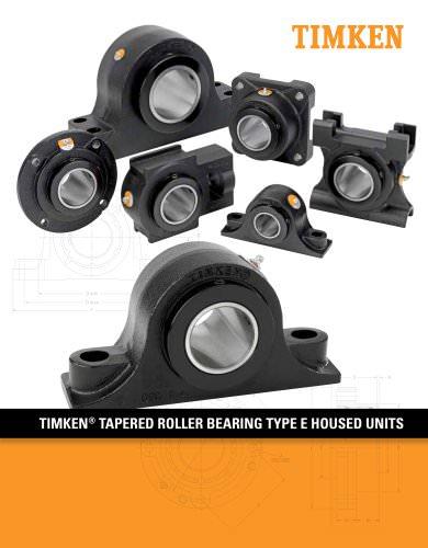 Timken Type E Housed Unit Catalog