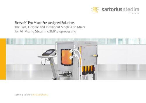 Flexsafe®  Pro Mixer Pre-designed Solutions