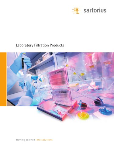Laboratory Filtration Products
