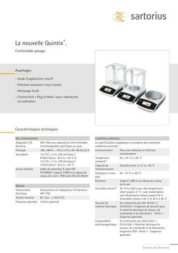 La nouvelle Quintix®