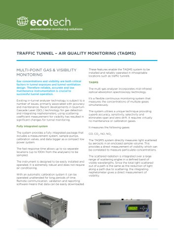 AAQMS (Ambient Air Quality Monitoring System)