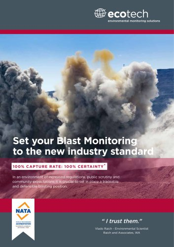 BLAST MONITORING Solutions