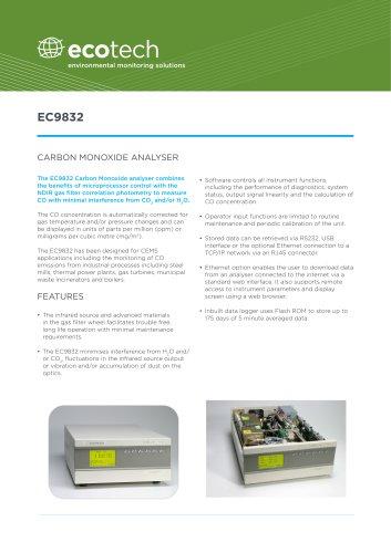 CO Analyser EC9832