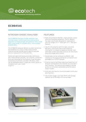 NOx EC9841AS