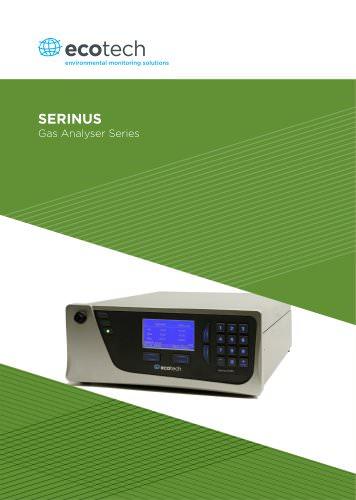 SERINUS Gas Analyser Series