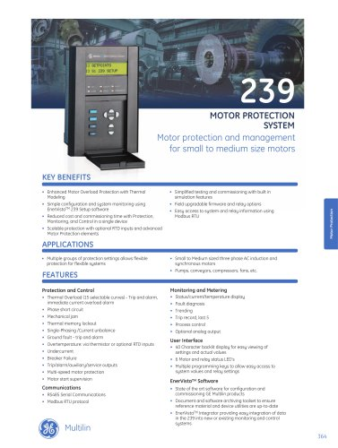 239 Motor Protection