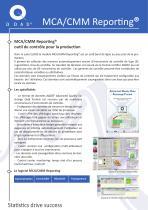 MCA/CMM Reporting® - 1