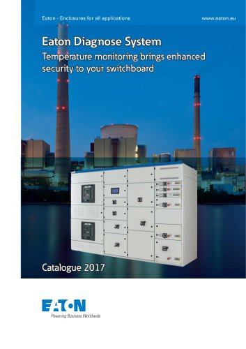 Eaton Diagnose System - Temperature moniting brings enhanced security to your switchboard