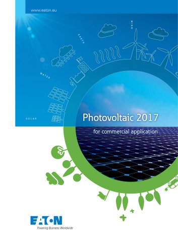 Photovoltaic for commercial application