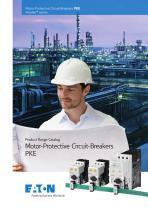 Product range catalog  Motor-Protective Circuit-Breakers PKE