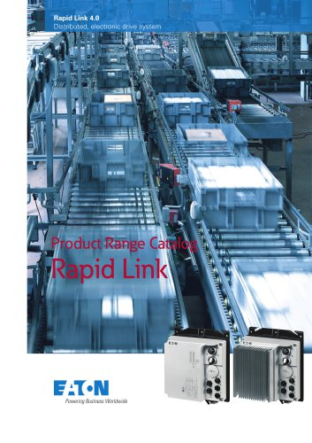 Product Range Catalog Rapid Link 4.0 Distributed, electronic drive system