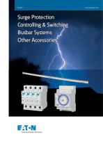 Surge Protection urge Protection Controlling & Switching Busbar Systems Other Accessories