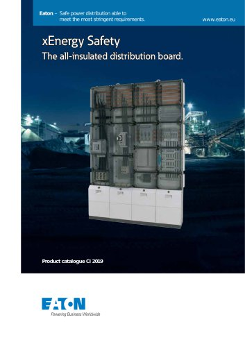 xEnergy Safety - The all-insulated distribution board