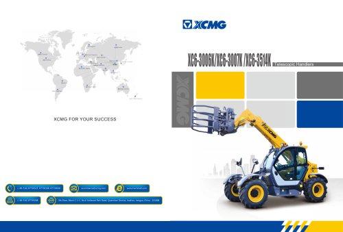 XCMG 3Ton Telescopic Handlers XC6-3006 XC6-3007