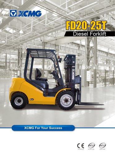 XCMG FD20T Diesel forklift