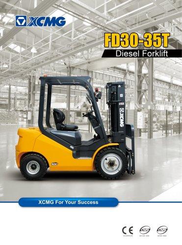 XCMG FD35T Diesel forklift