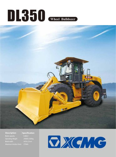 XCMG Wheel Bulldozer DL350