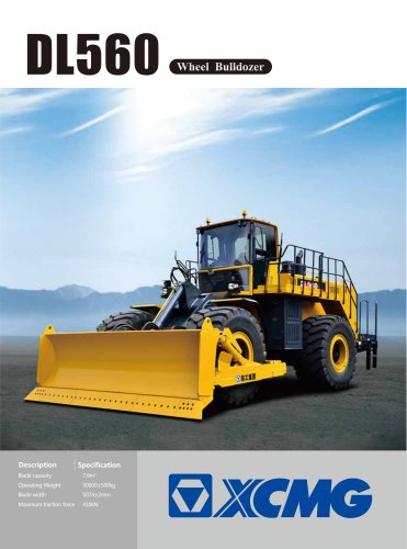 XCMG Wheel Bulldozer DL560