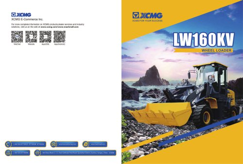 XCMG Wheel Loader LW160KV
