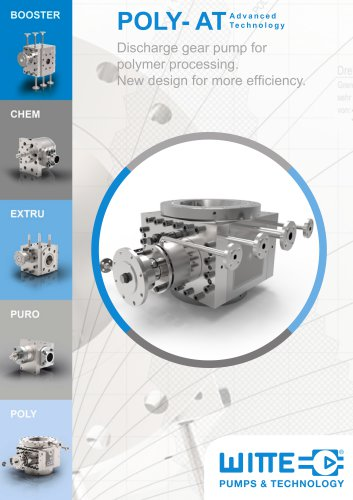 Poly at Polymer discharge pumps