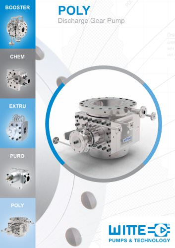 POLY Polymer discharge pump