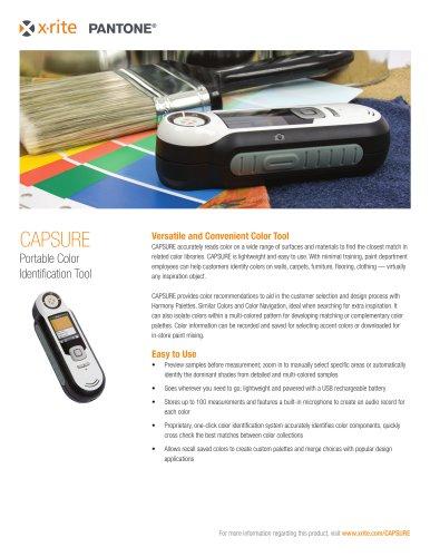 CAPSURE  Portable Color Identification Tool
