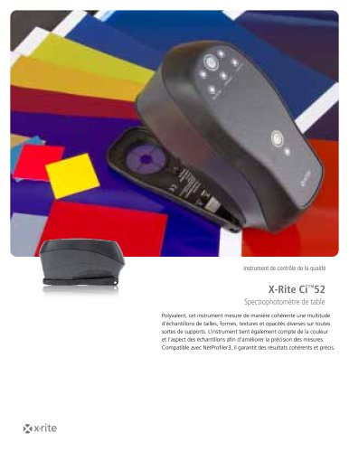Spectrophotomètre X-Rite Ci™52