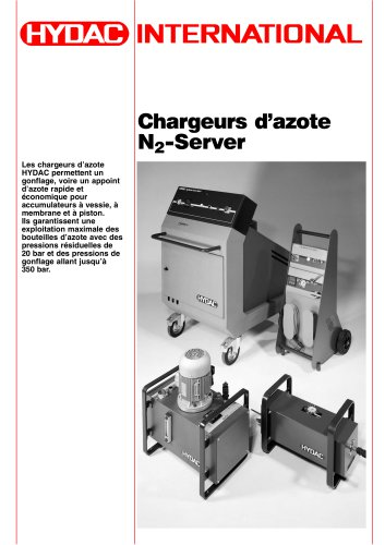 Chargeurs d´azote N2-Server