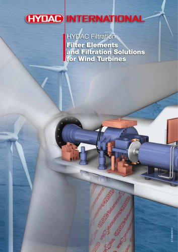 HYDAC FiltrationFilter Elements and Filtration Solutions for Wind Turbines