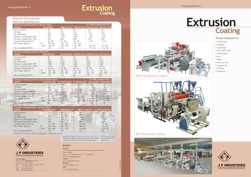 Extrusion coating
