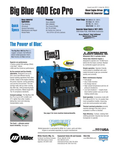 Big Blue® 400 Eco Pro