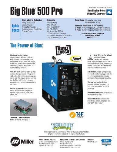 Big Blue® 500 Pro